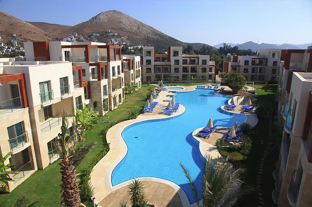 Complex and Pool Apartment Starlife Residence Bodrum