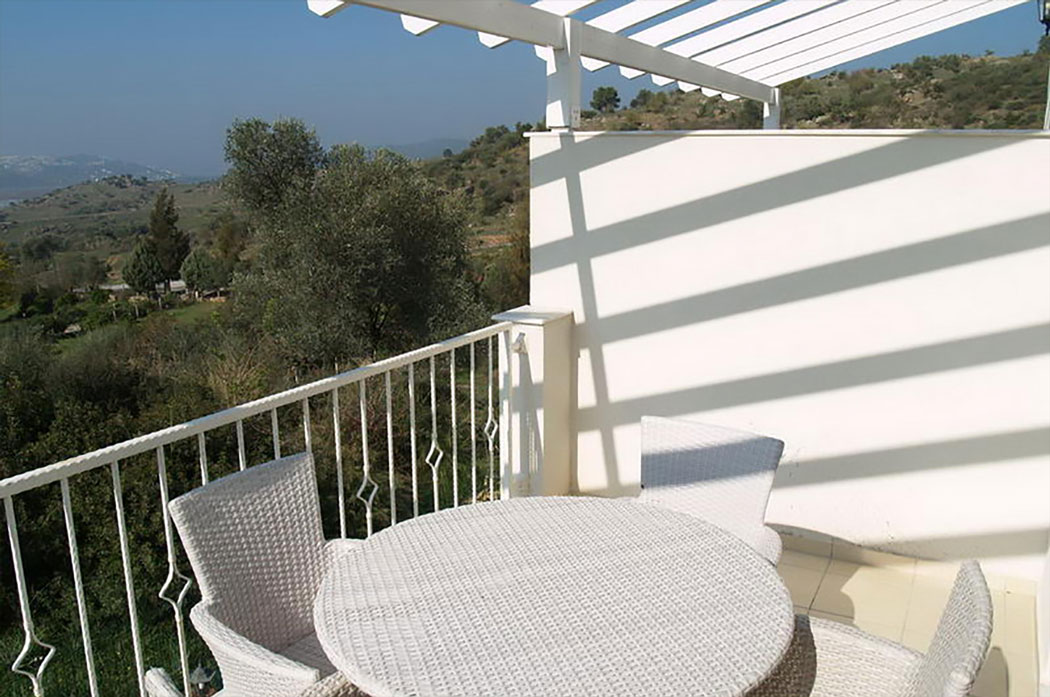 View From Balcony   Lakeshore Golf Apartments Bodrum