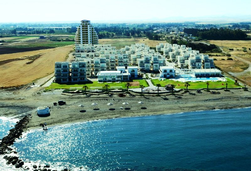 Aphrodite Beach Front Phases 1-2-3 At Rear