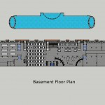 Club Harmonia A Basement Floor Plan