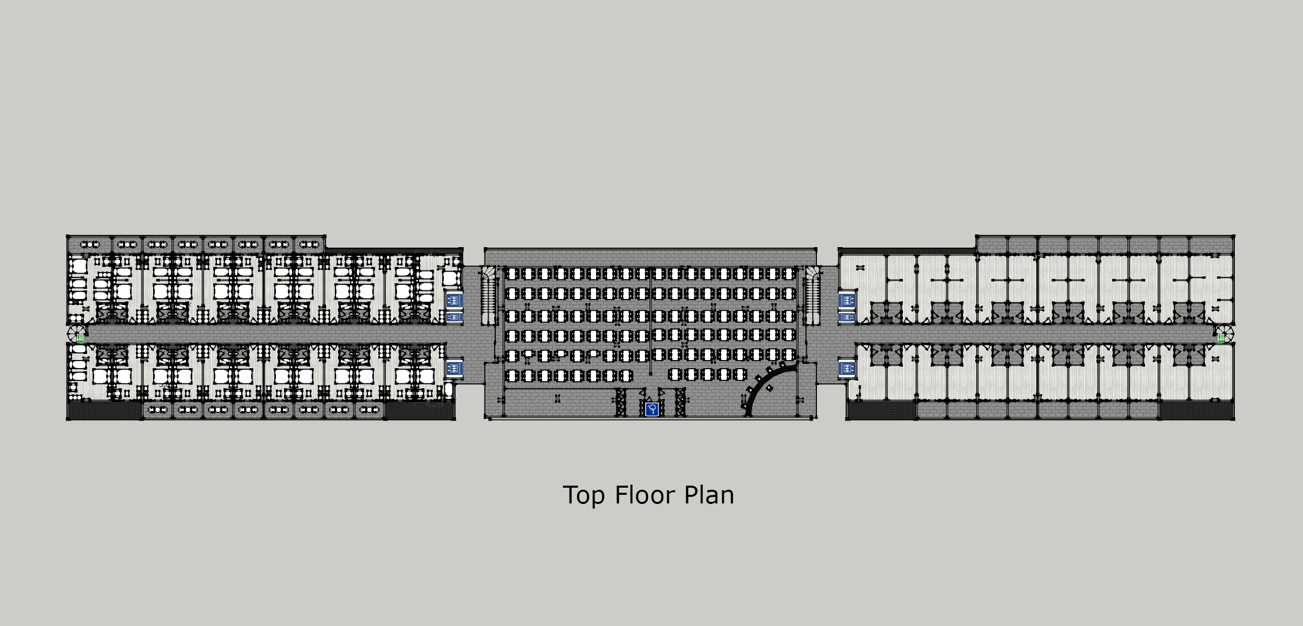 Club Harmonia E Top Floor Plan