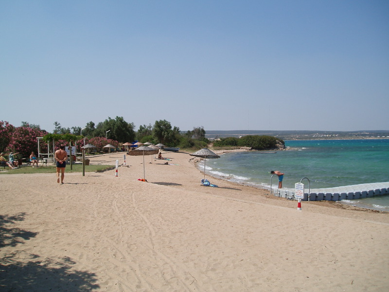 Yesilkent Beach In Turkey